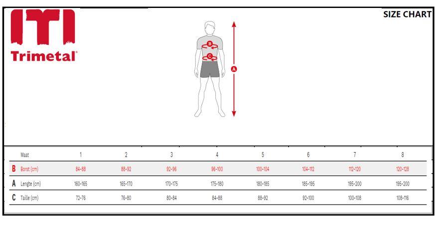 Size Chart windbreaker JPG